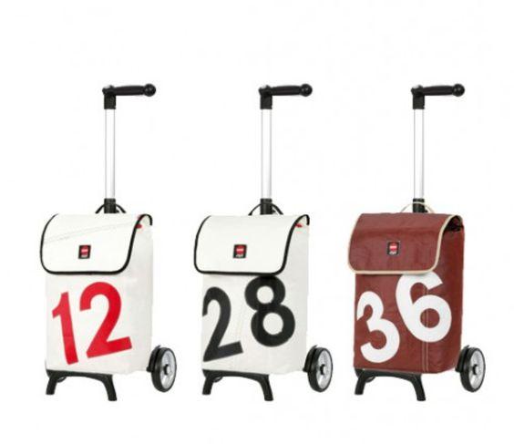 Andersen Shopper® Unus Fun mit Segeltuchtasche In 3 Ausführungen erhältlich Maße: 38 x 57 x 23 cm