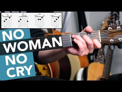 No Woman No Cry Guitar Lesson Tutorial Bob Marley 4 Chord Guitar Song For Beginners Youtube In 2020 Guitar Lessons Tutorials Guitar Lessons Guitar Chords For Songs