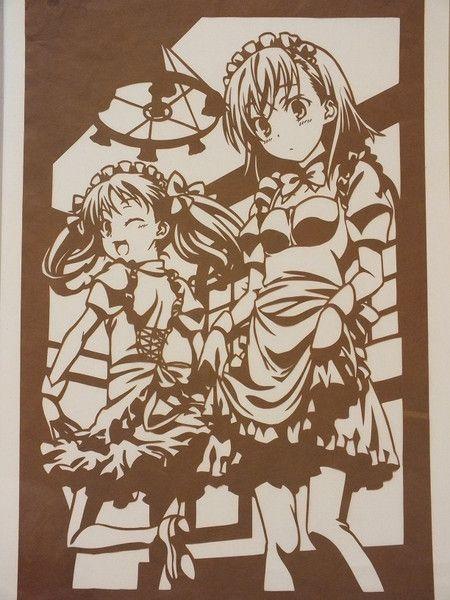 Misaka Mikoto và Kuroko Shirai / ※ Hình ảnh là một hình ảnh. 'S Illustrations - vẫn mỉm cười hình ảnh (Minh họa)