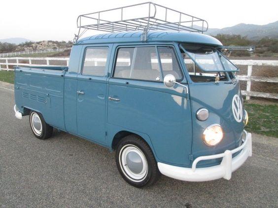 1966 VW Double Cab Transporter For Sale @ Oldbug.com