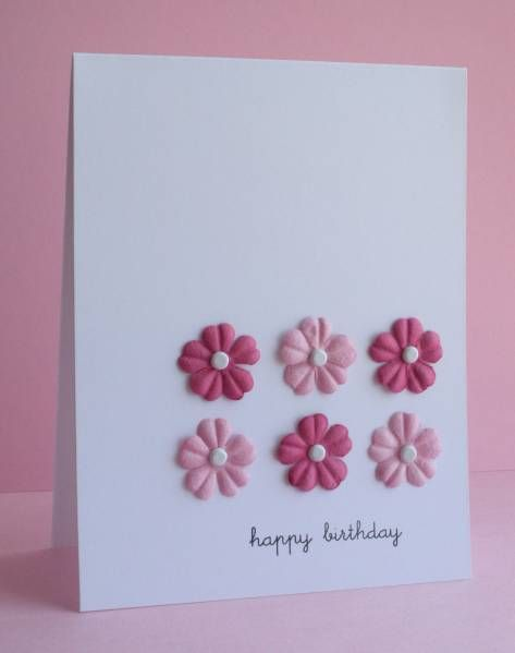 CAS13 Pink Prima Birthday by LateBlossom - Cards and Paper Crafts at Splitcoaststampers