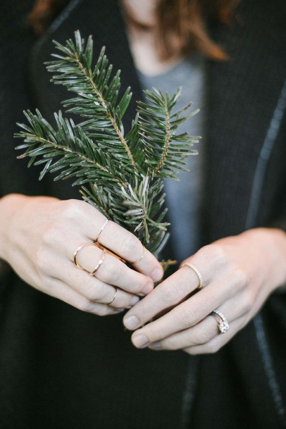 falling is like this: Layered Rings, Stacked Rings, Tiny Rings, Beautiful Rings, Rings Gold, Style Winter, Dressed Jewels