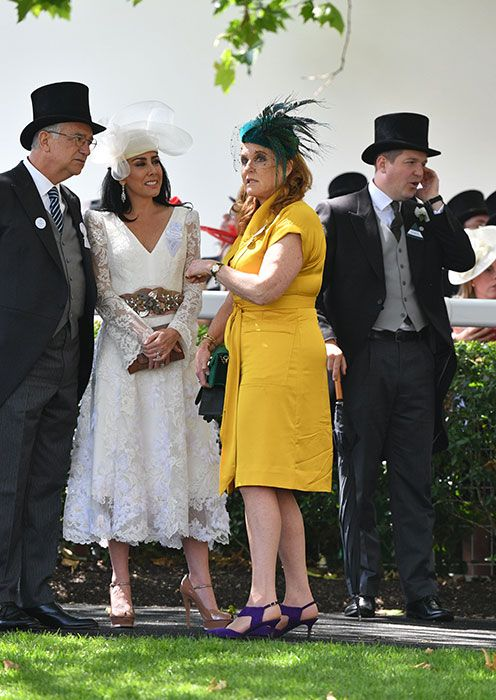 Sarah Ferguson Joins Prince Andrew And The Queen At Royal Ascot