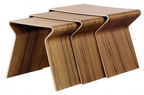 GJ nesting tables by Lange Production