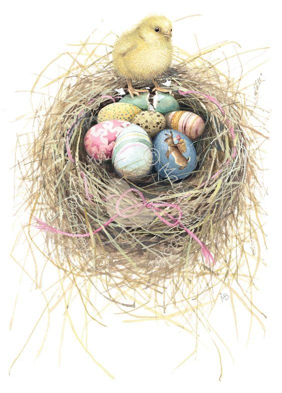 Easter Chick - Marjolein Bastin