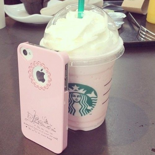 Cotton candy frap - ask for a vanilla frap with a pump of raspberry