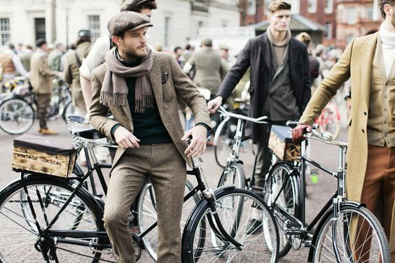 オシャレ紳士よ、自転車に乗れ。世界で話題の「ツイードラン」今年も日本で開催! 7枚目の画像