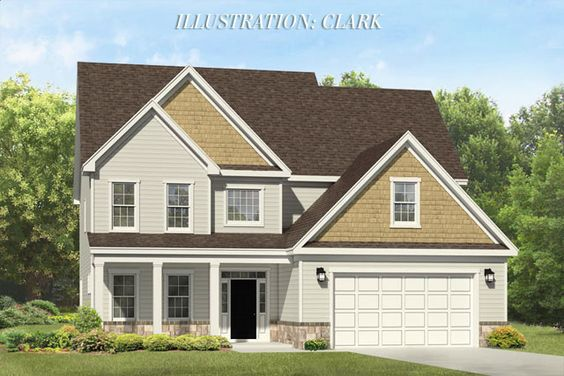 The Clark, a home available in the Liberty Hill neighborhood.