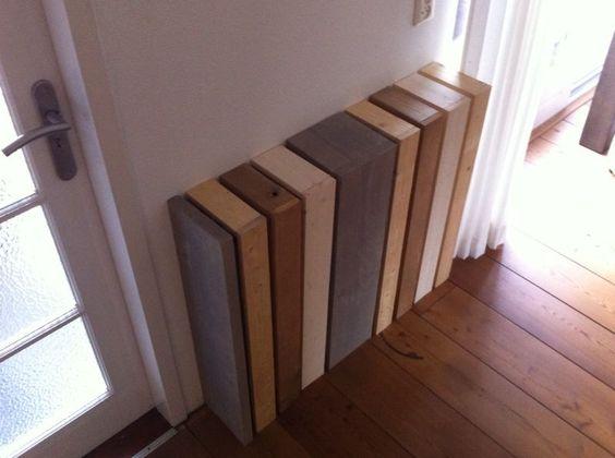 Onze nieuwe radiator ombouw: