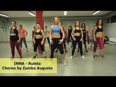 Zumba Inna Ruleta Feat Erik Zumba Vilniuje Zumba Auguste Youtube Zumba Tanztraining Zumba Fitness