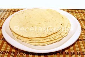 Receta de Tortillas mexicanas