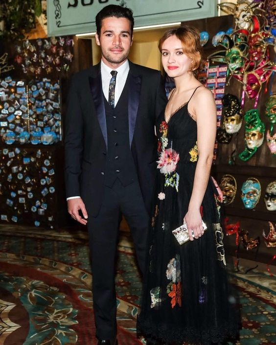 Christopher Abbott and Olivia Cooke wearing Dolce&Gabbana at the Save Venice Ball on April 15 2016 in New York. #saveveniceball #christopherabbott #oliviacooke by dolcegabbana