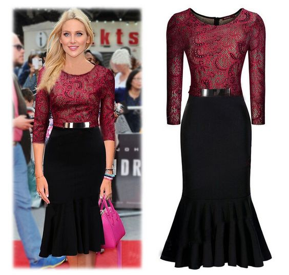 Dress Up S Party Quality Dresses For Fat People Directly From China Definition Suppliers Women Spring Winter Dresse Pinteres
