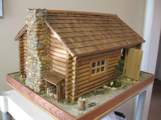 Pin By Osiris Rivera On Dollhouse Doll House Cabin Dollhouse Miniature Houses