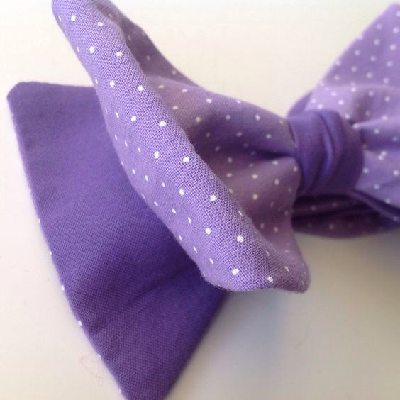 A personal favorite from my Etsy shop https://www.etsy.com/listing/208077468/lavender-with-tiny-white-polka-dots