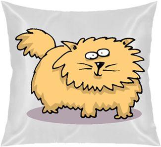 Kedi Mi? Kendin Tasarla - Kare Yastık 40x40cm