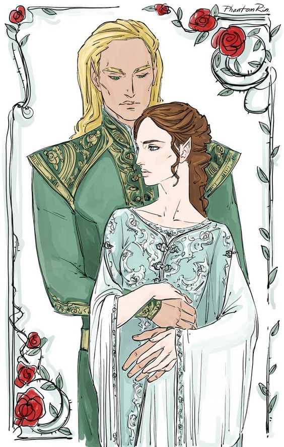 The High Lord of the Spring Court and Feyre[Embedded image]