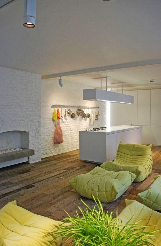 loft crush | floor cushions, so fresh and design, Innenarchitektur ideen