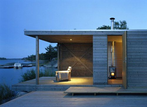 island house | guest ~ arkitektstudio widjedal racki