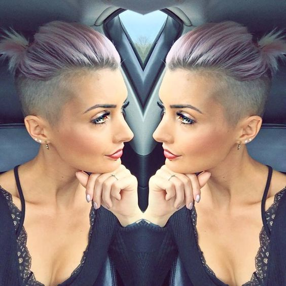 21 Undercuts For A Hairstyle That S Badass Af Short Hair Undercut Short Sides Haircut Side Haircut