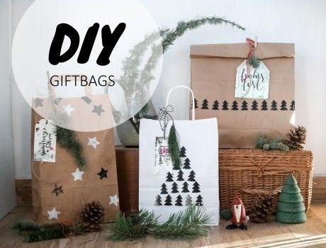 So machst du tolle Geschenktüten zu Weihnachten einfach selber | craftifair | Bloglovin'