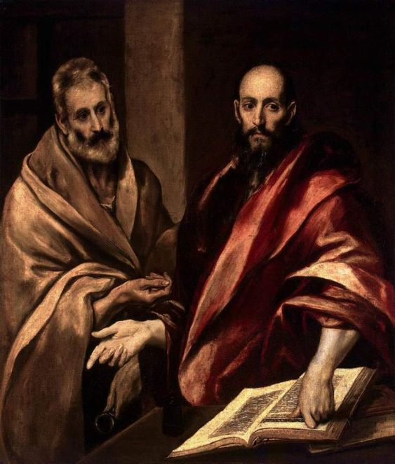 """Sts. Peter and Paul"" by El Greco"