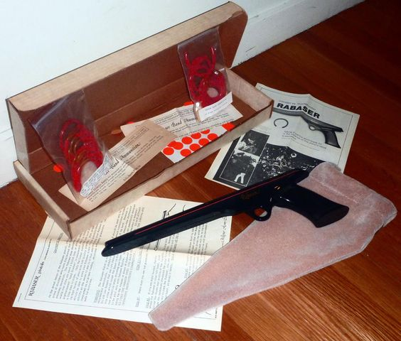 70s-80s vintage rabaser rubber band gun great condition w/ box  from $89.95