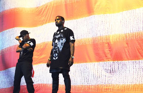 Jay Z & Kanye // rock (AND ROLL) the vote // www.TOMS.com
