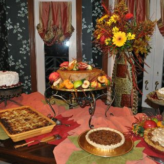 Dessert table fall party