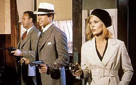 Faye Dunaway in Bonnie and Clyde...