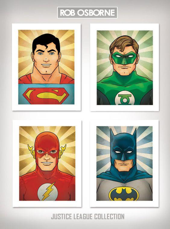 Superhero Comic Book Pop Art