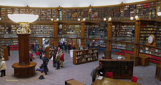Picton Reading Room And Hornby Library At The Liverpool Central Library Reading Room Picton Liverpool