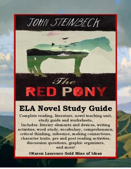 character analysis of jody in red pony by john steinbeck