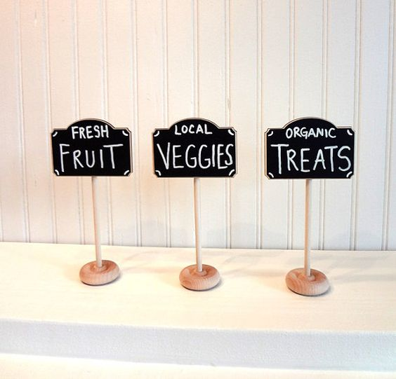 Chalkboard Table Mini Chalkboards And Inspiration On
