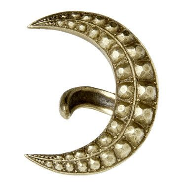 alkemie recycled metals moon ring