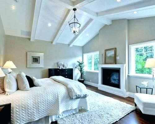 Half Vaulted Ceiling Master Bedroom Vaulted Ceiling Fan Half