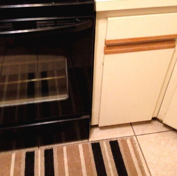 Paint Laminate Kitchen Cabinets: Redo Ugly 80s Oak-trim Laminate Kitchen Cabinets For Under