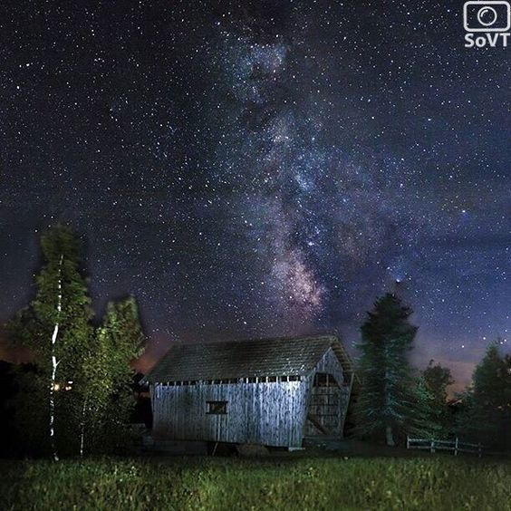 Vermont  ✨ Photographer  @kyleugalde✨  #ScenesofNewEngland  Pic of the Day  11.02.15 ✨ C o n g r a t u l a t i o n s ✨ #scenesofVT  #cabotVT #igvermont #vermont_potd  #fostercoveredbridge  #coveredbridge #vtcoveredbridge #milkyway #nightsky #nikon  #vermont_explore #explorevermont #tra...