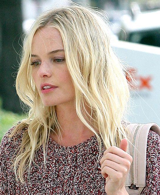 Kate Bosworth. Love her minimal waves.