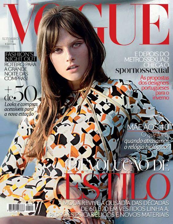 Vogue Portugal September 2014 : Elena Melnik by Rui Aguiar