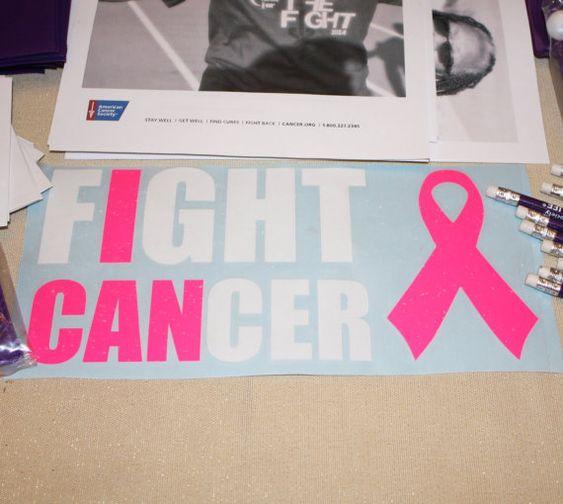 Breast Cancer Awareness Vinyl Decal