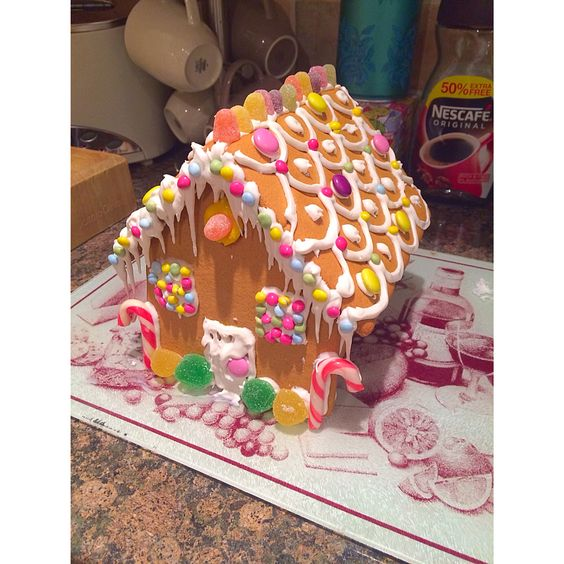 Gingerbread house  #gingerbread #biscuit