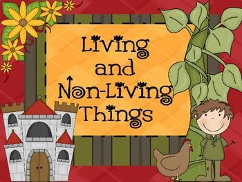 living things versus nonliving things Students will learn to identify living versus non-living things everything is connected  interactions between living and nonliving things in a small.