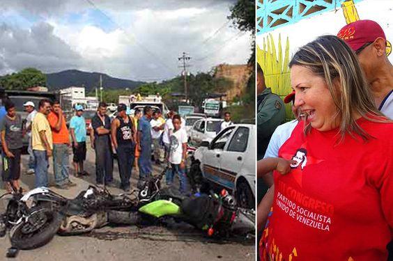 URGENTE! Alcaldesa oficialista se encuentra en estado de gravedad tras sufrir accidente de tránsito