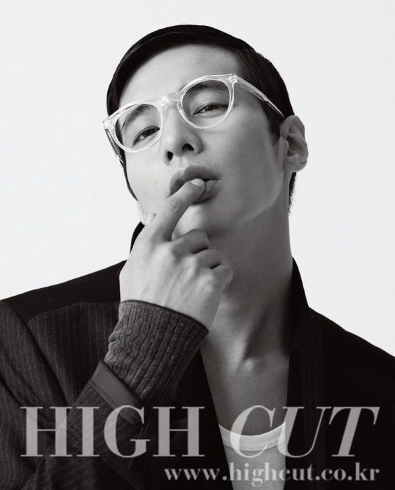 Won Bin - High Cut Magazine
