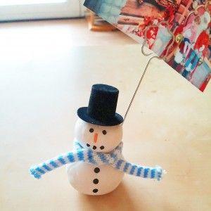 activit manuelle et cr ative enfant bonhomme de neige porte photo fabrique un bonhomme de. Black Bedroom Furniture Sets. Home Design Ideas