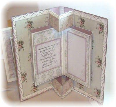Mariannes papirverden.: Brette, brette, brettekort:)