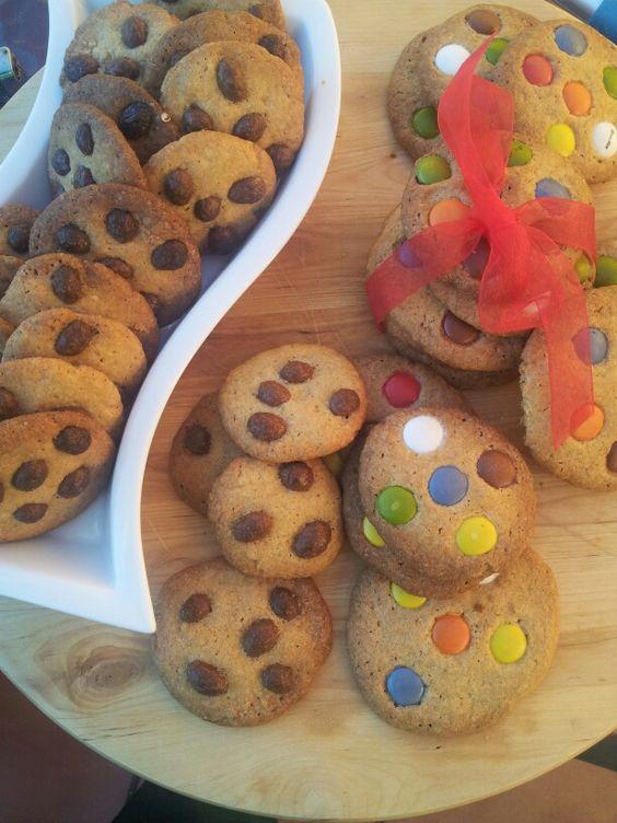 Cookies de lacasitos &conguitos