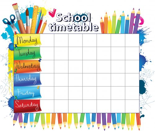 School schedule, Teacher resources and Classroom teacher on Pinterest