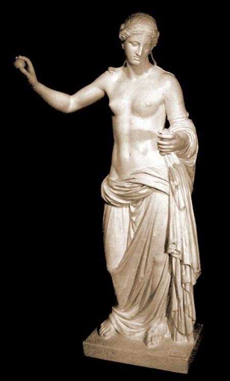 Aphrodite Of Arles Classical Greek Date Of The Original 4th Century B C Provenance Of The Original Roman Sculpture Ancient Greek Sculpture Greek Statues